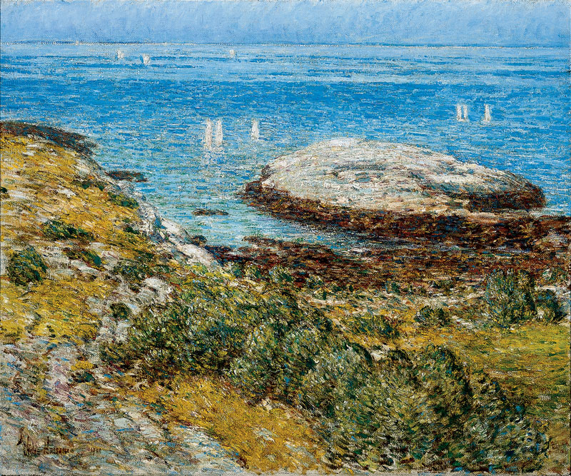 Childe Hassam – EARLY MORNING CALM