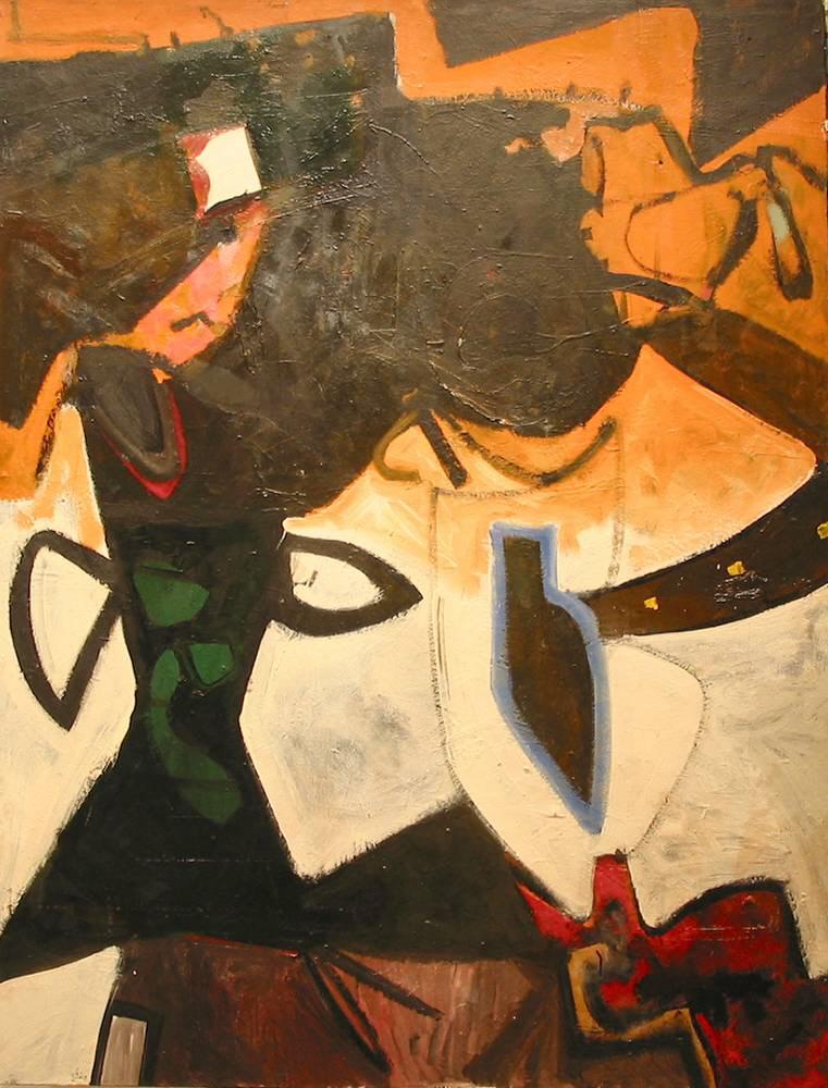 Elmer Bischoff – UNTITLED