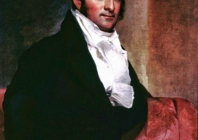 Thomas Sully – PORTRAIT OF ELIAS JONATHAN DAYTON