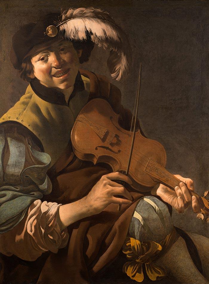 Hendrick Terbrugghen (Dutch, 1588—1629), A Boy Violinist, 1626,