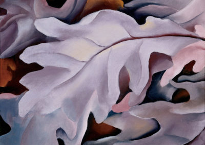 Georgia O'Keeffe – PURPLE LEAVES
