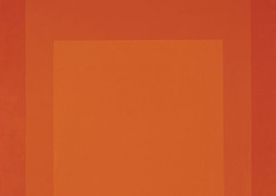 Josef Albers  – HOMAGE TO THE SQUARE: SENTINEL