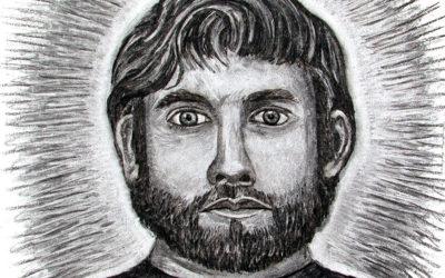 Charcoal Portrait Drawing
