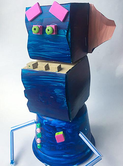 Rad Robot Puppet