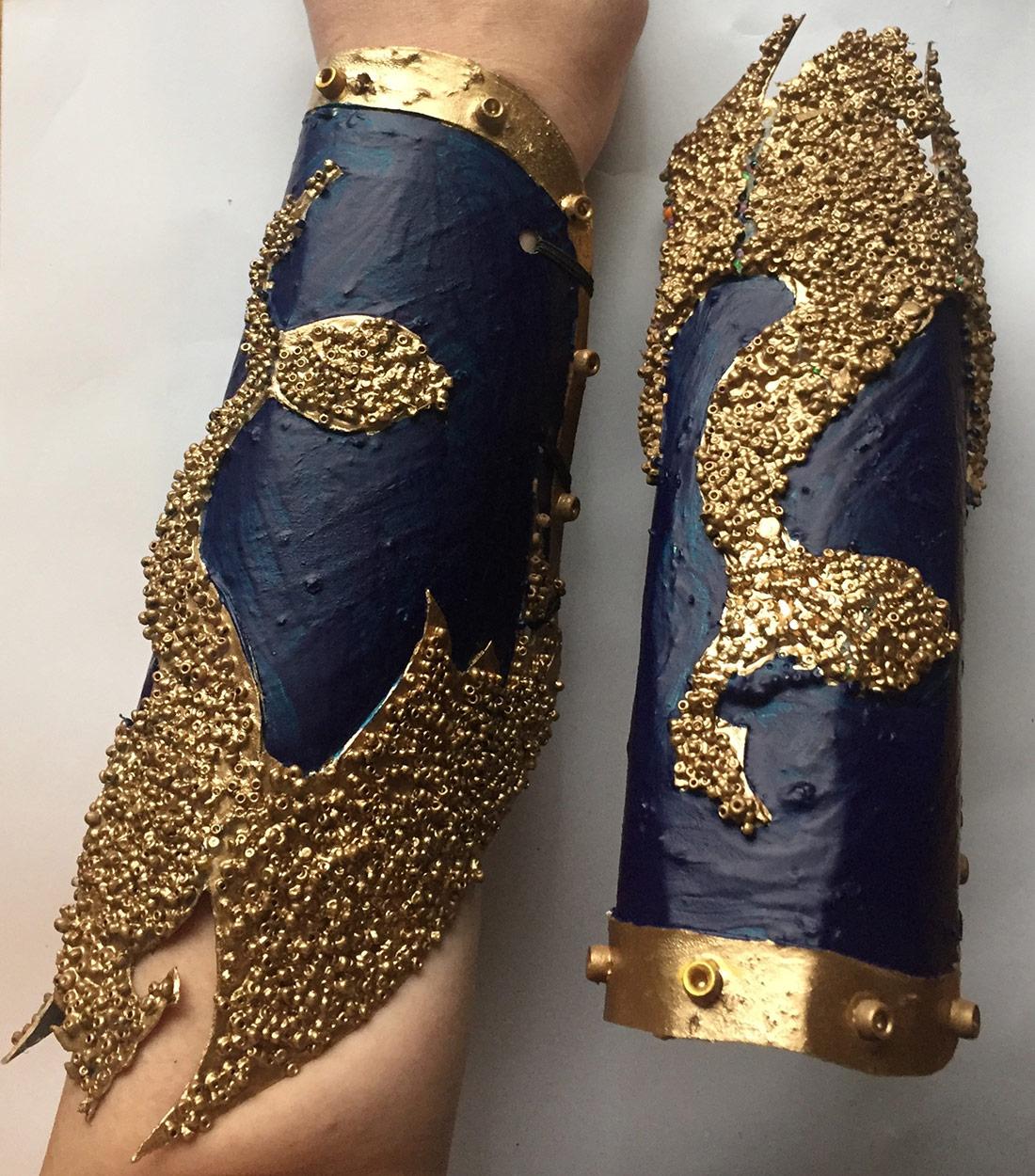 cosplay arm bracers