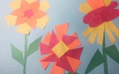 Paper Shapes Garden