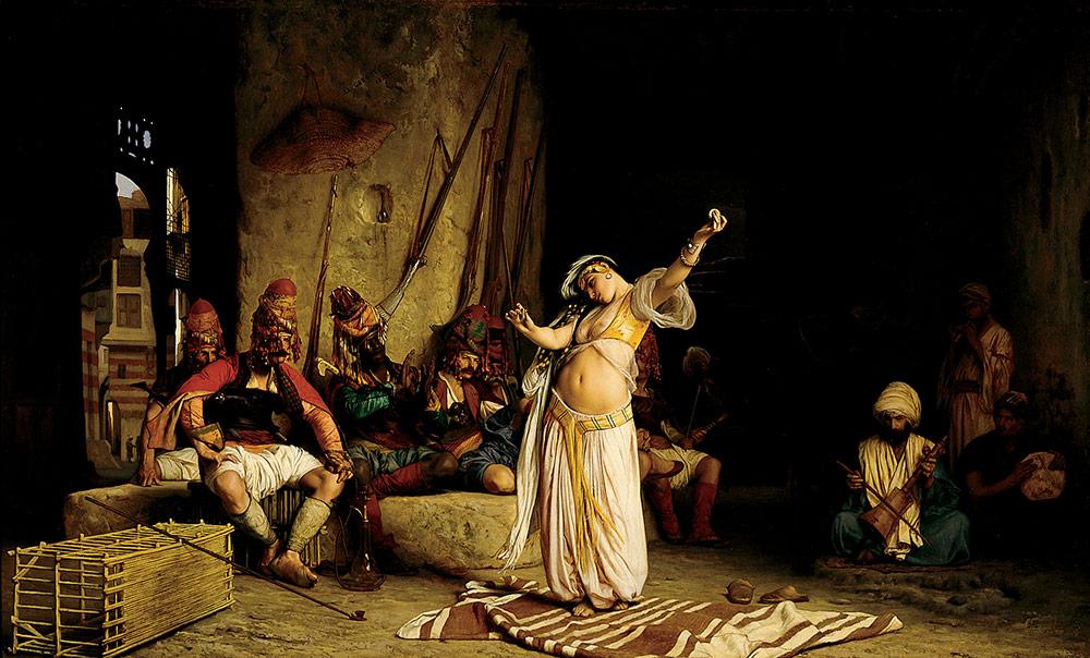 Jean-LéonGérôme- DANCE OF THE ALMEH