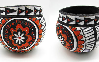 Native American-Inspired Clay Bowls