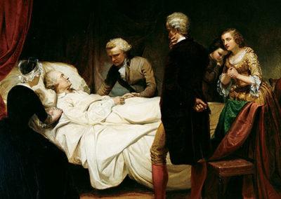 Junius BrutusStearns – WASHINGTON ON HIS DEATHBED