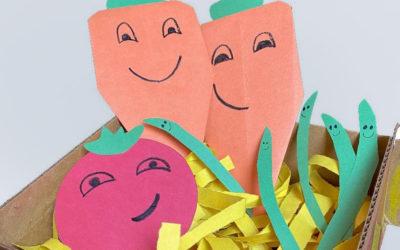 Carrots in a Harvest Basket!
