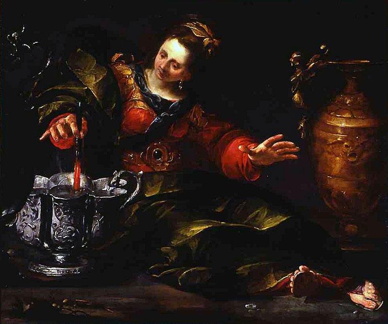 Gioacchino Assereto (Italian, 1600—1639) Circe Mulling Wine, about 1630