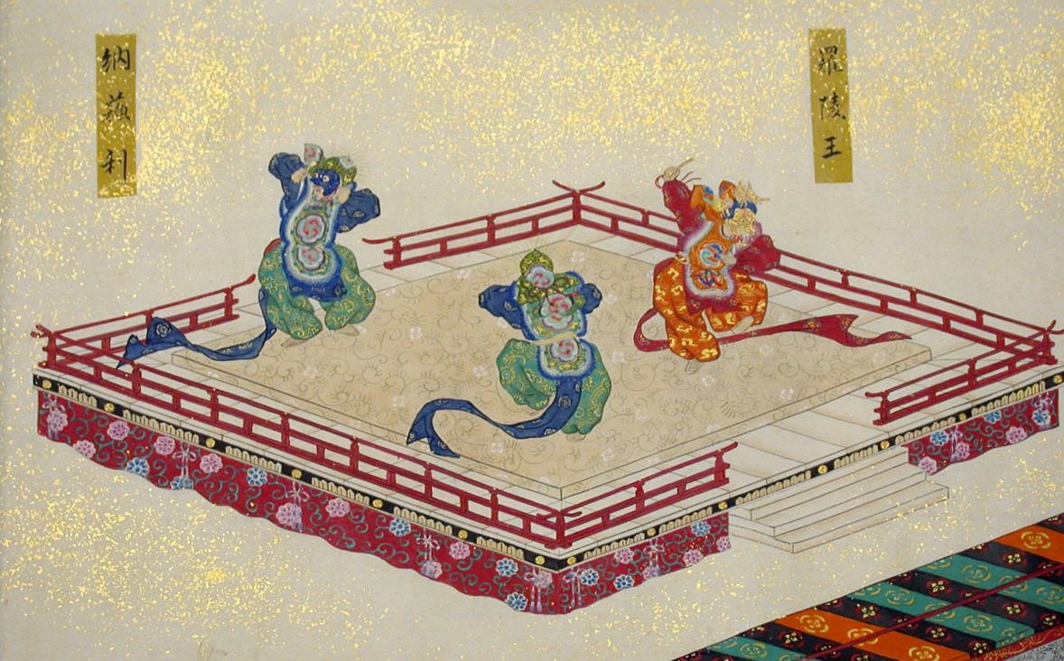 Artist Unknown (Japanese, 19th century), Festival Dances