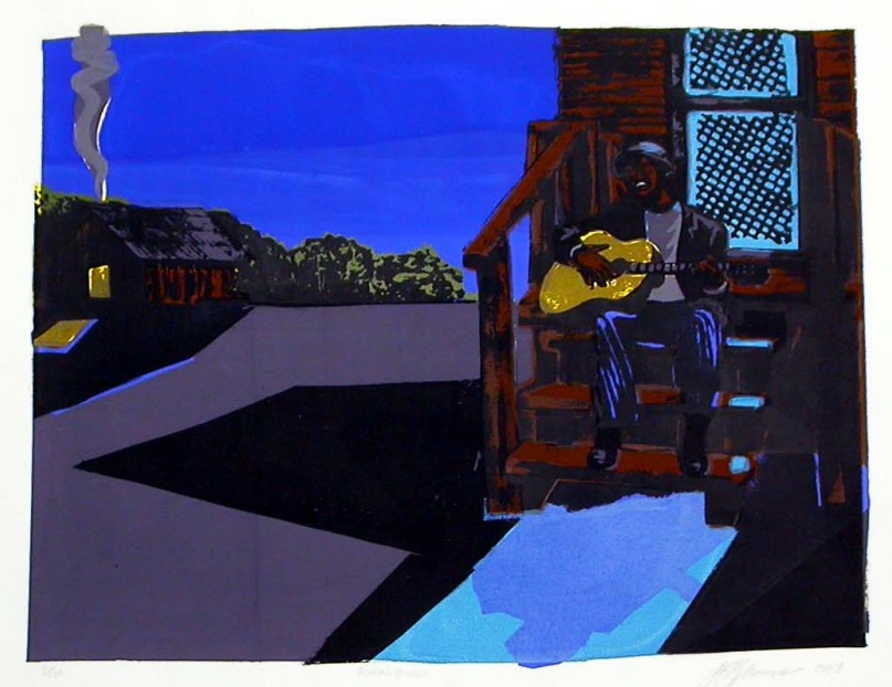 Jimmy James Greene, Rural Blues Artist