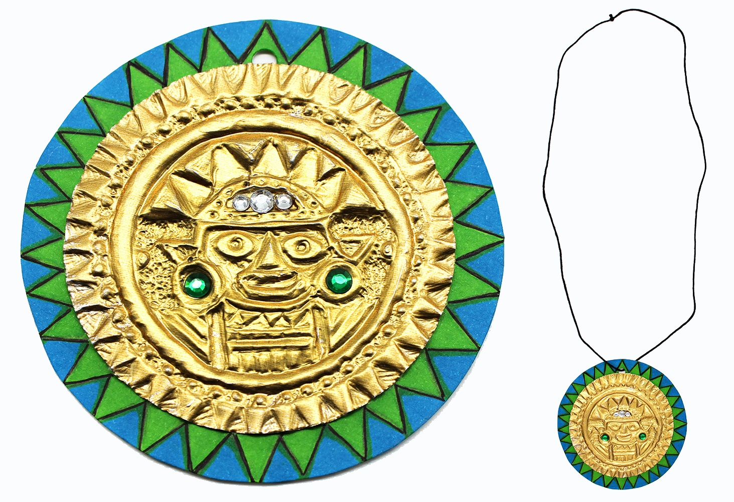 South American Jewelry Project Example