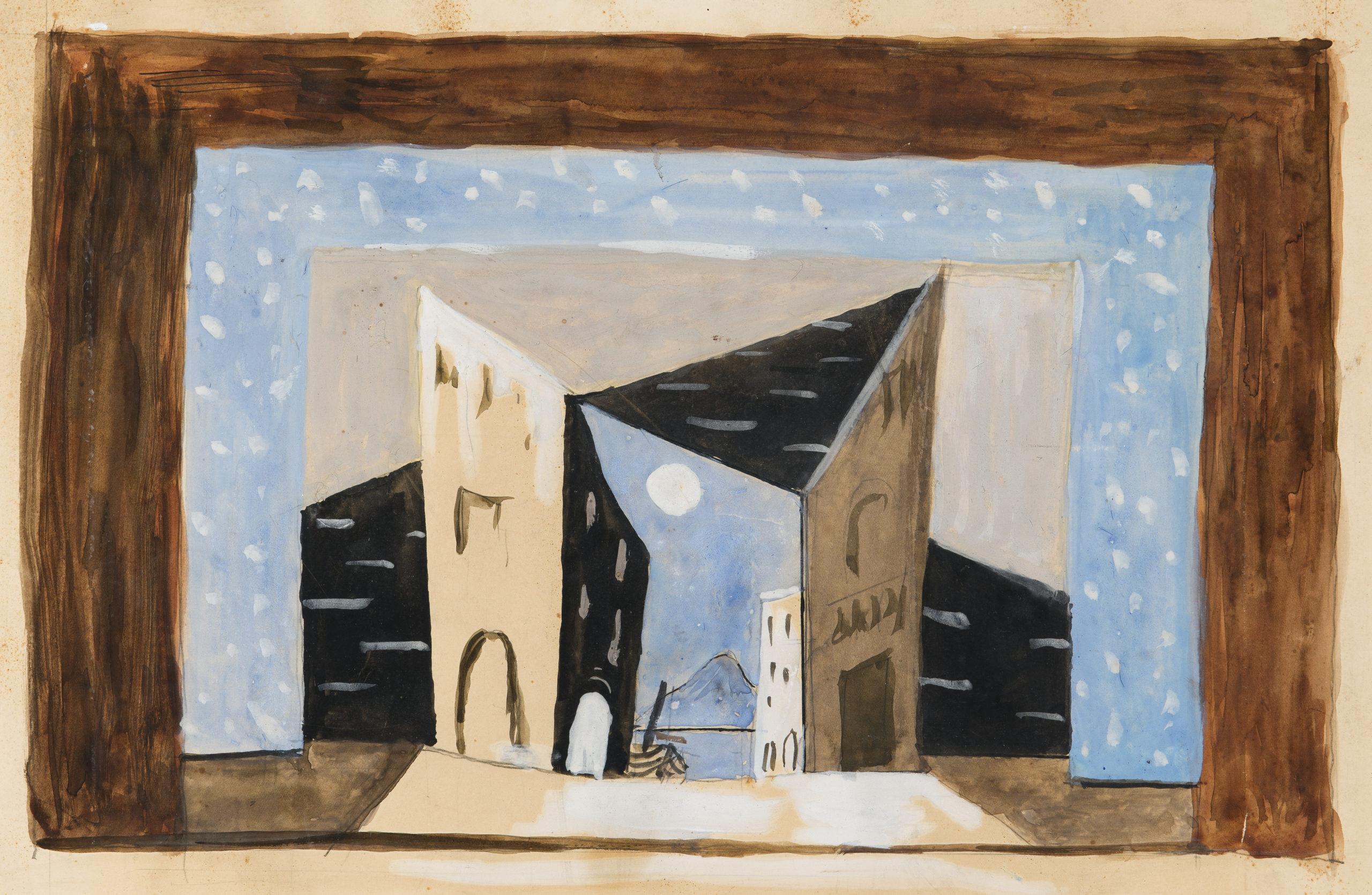 Pablo Picasso, Maquette for Le Tricorne (The Three Cornered Hat)