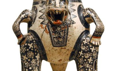 Art Vids for Kids: Jaguar-Shaman Tripod Vessel