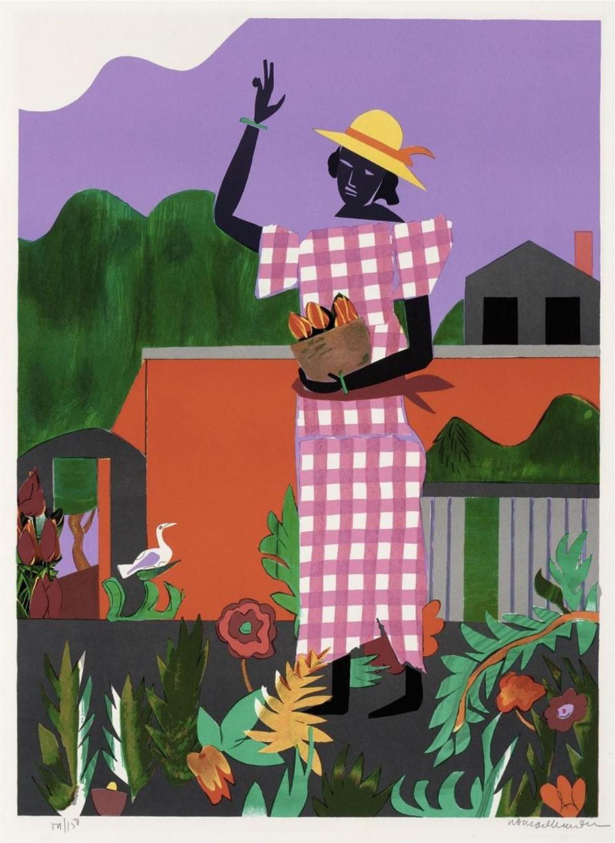 Romare Bearden, In the Garden (1979)