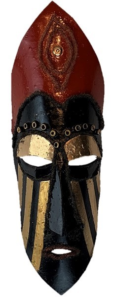Create an African-inspired mask