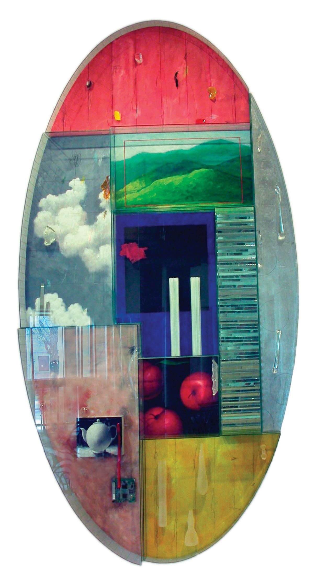 Therman Statom (American, born 1953), Ovala Marea, 2004
