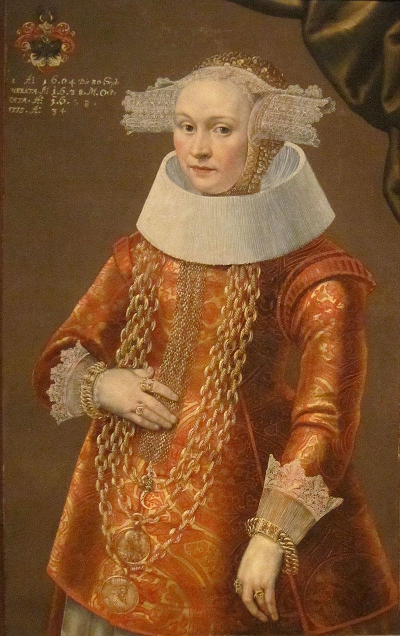 Michael Conrad Hirt, Portrait of a Daughter of Dietrich Bromsen, about 1635