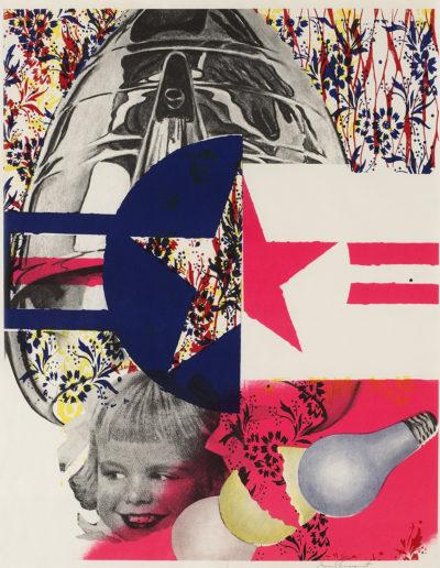 James Rosenquist, F-111 (Castelli Gallery poster)