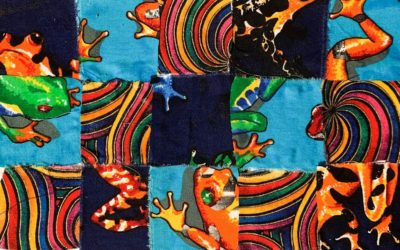 Fabric Color Collage