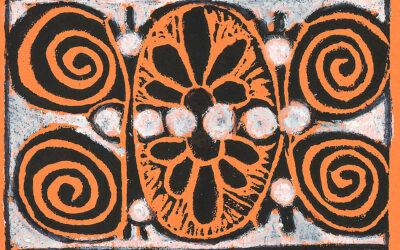 Ancient Greek Relief Print