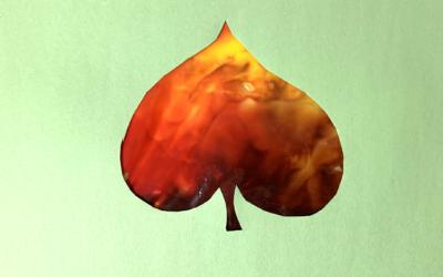 Leaf Smush Painting