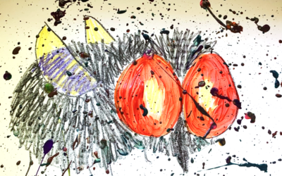 Splatter Paint Fly