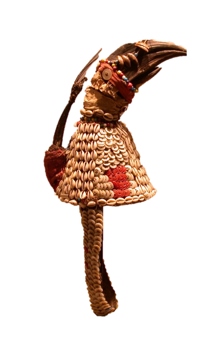 This week's featured artwork is a Bwami Association Hat, created by the Lega people, of the Democratic Republic of the Congo